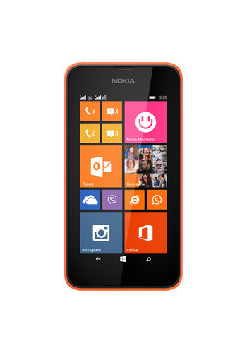 Смартфон Nokia 530 Lumia Orange (Dual sim)