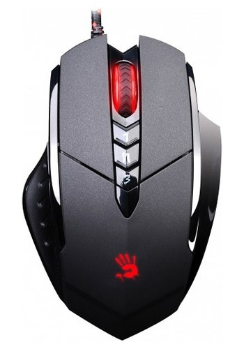 Мышь A4Tech Bloody V7 game mouse Black USB